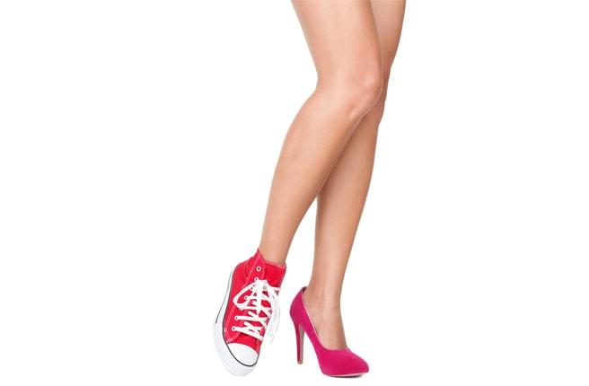Обувь на каблуке полезна