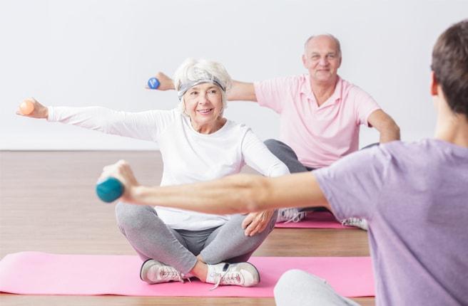 Фитнес при рассеянном склерозе