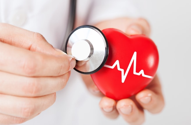 Сердце, стетоскоп